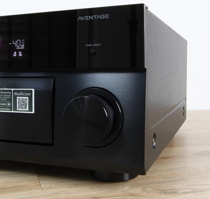 Yamaha-RX-A2060-Bedienelemente-Front1