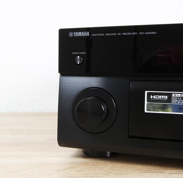 Yamaha-RX-A2060-Bedienelemente-Front2