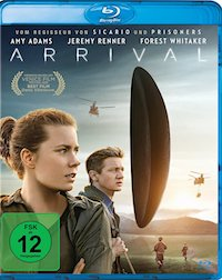 Arrival Blu-ray Disc