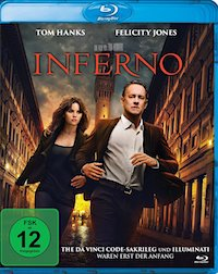 Inferno Blu-ray Disc
