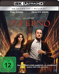 Inferno Ultra HD Blu-ray