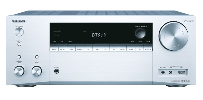 Onkyo TX-NR676_silver_front