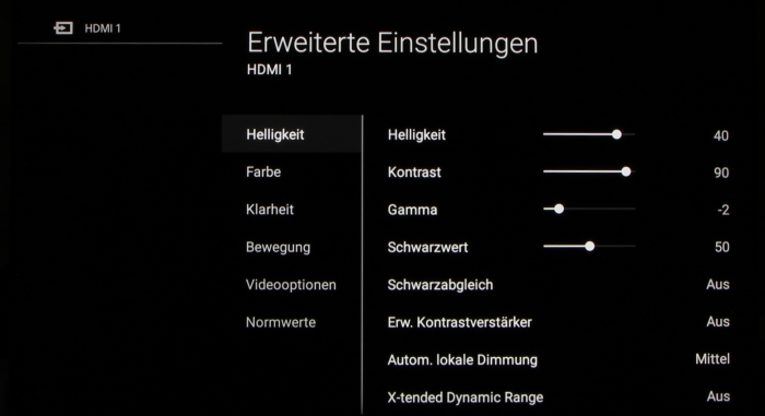 Sony KD-65XE9305 Screenshot 20