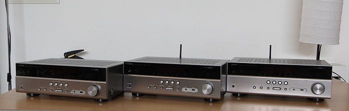 Yamaha RX-V383 483 583