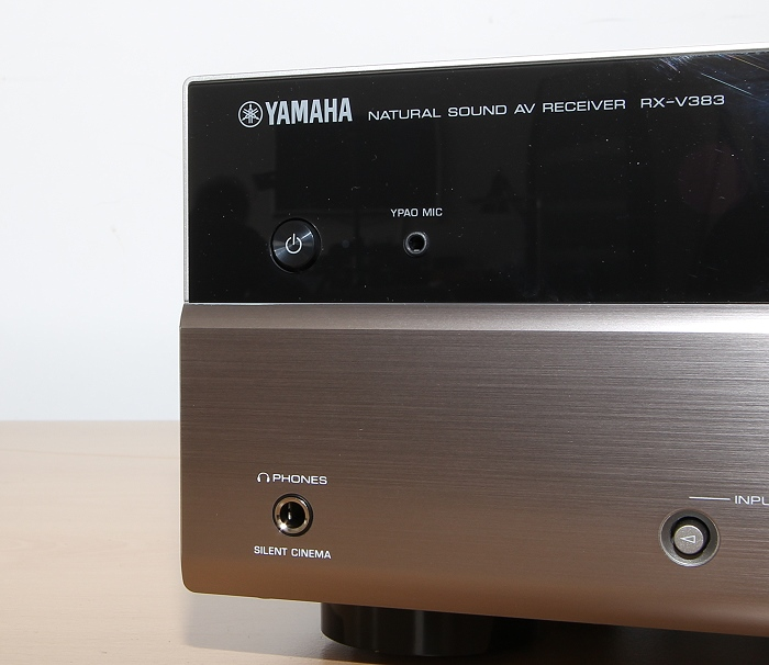 Yamaha RX-V383 Bedienelemente Front3