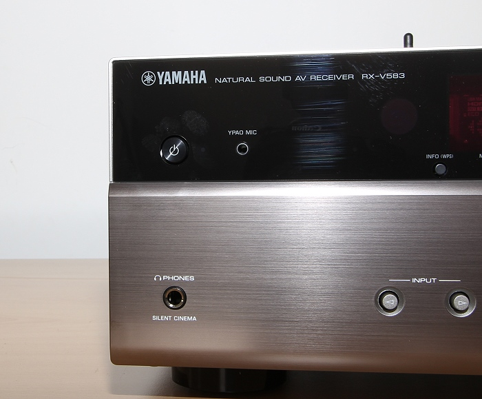 Yamaha RX-V583 Bedienelemente Front3