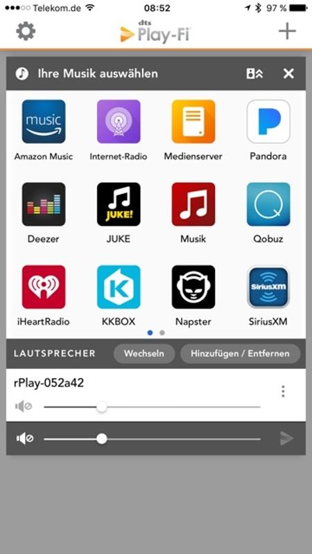 Arcam rPlay App 13