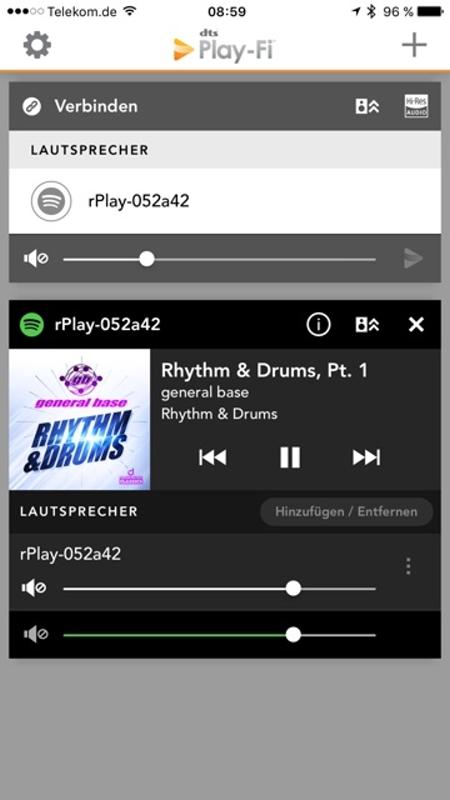 Arcam rPlay App 16