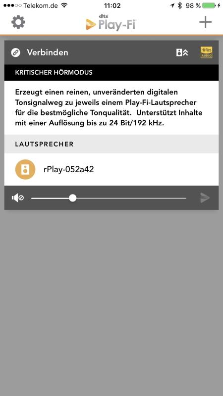Arcam rPlay App 24