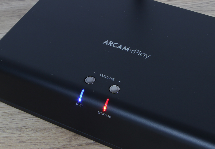Arcam-rPlay-Bedienelemente