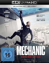 Mechanic resurrection Ultra HD Blu-ray
