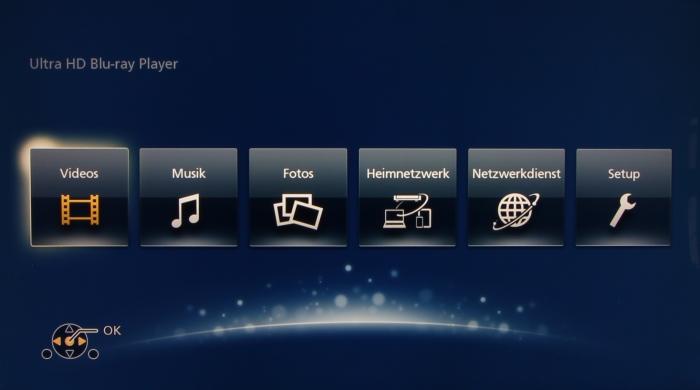 Panasonic DMP-UB404 Screenshot1