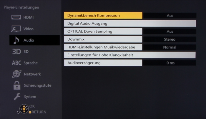 Panasonic DMP-UB404 Screenshot7