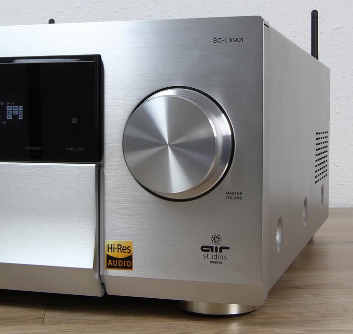 Pioneer-SC-LX901-Bedienelemente-Front1