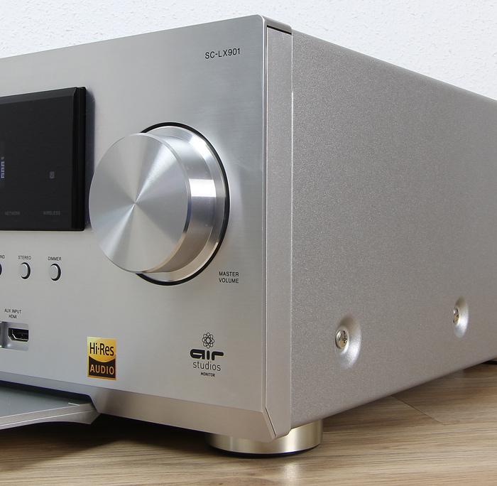 Pioneer-SC-LX901-Verarbeitung