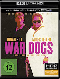 War Dogs Blu-ray Disc