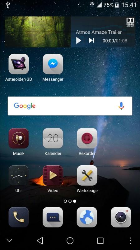 ZTE Axon 7 mini Screenshot