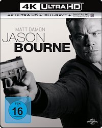 Jason Bourne Ultra HD Blu-ray