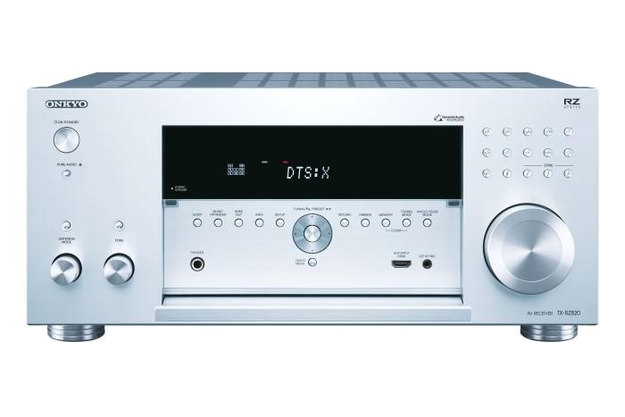Onkyo TX-RZ820_silver_front_open