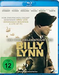 Die irre Heldentour des Billy Lynn Blu-ray Disc