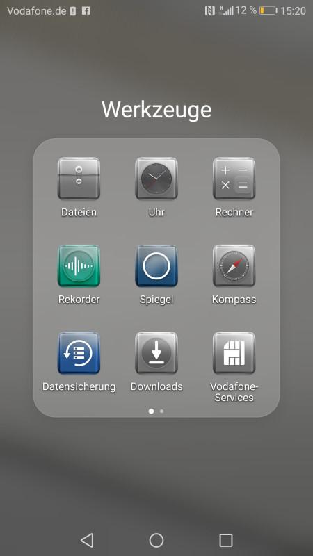Huawei P10 Screenshot