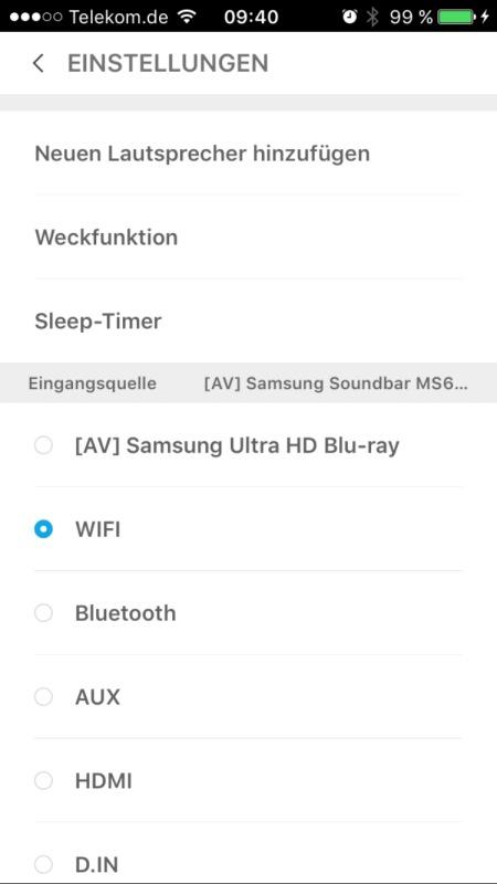 Samsung MultiRoom App 10