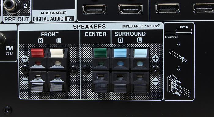 Denon-AVR-X540BT-Anschluesse-Rueckseite1