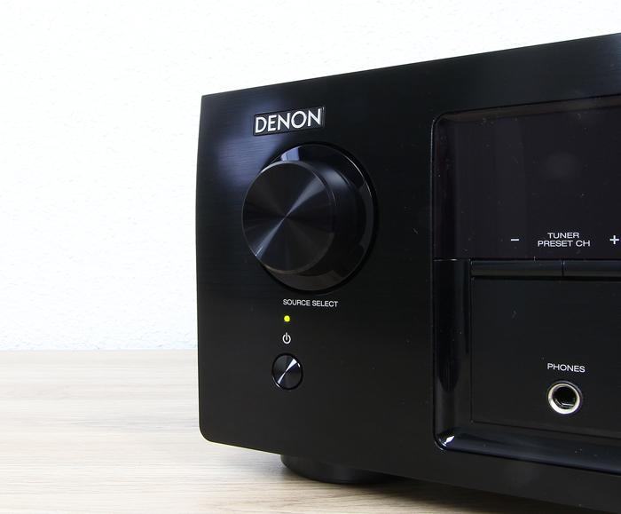 Denon-AVR-X540BT-Bedienelemente-Front2