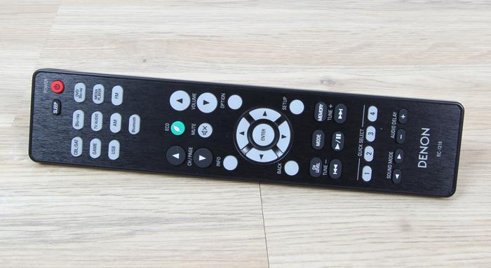 Denon-AVR-X540BT-Fernbedienung