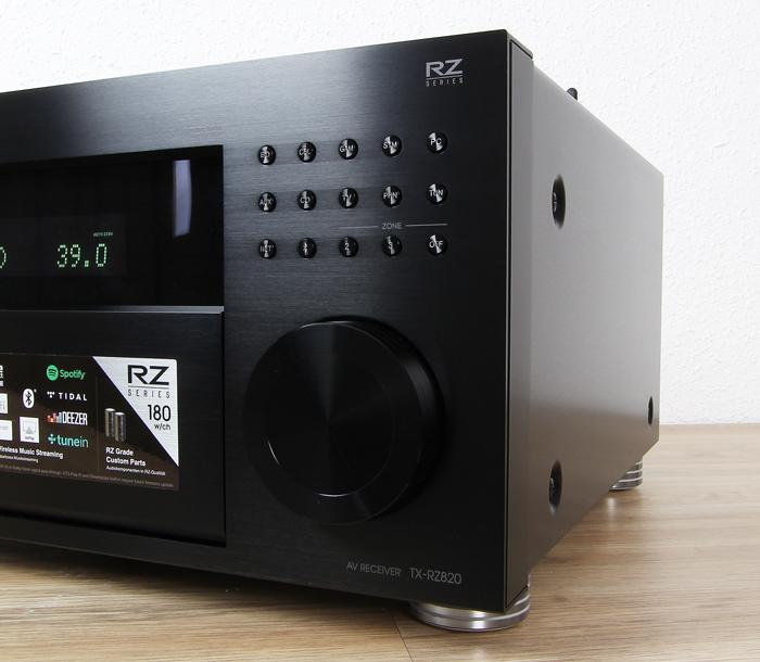 Onkyo-TX-RZ820-Bedienelemente-Front1