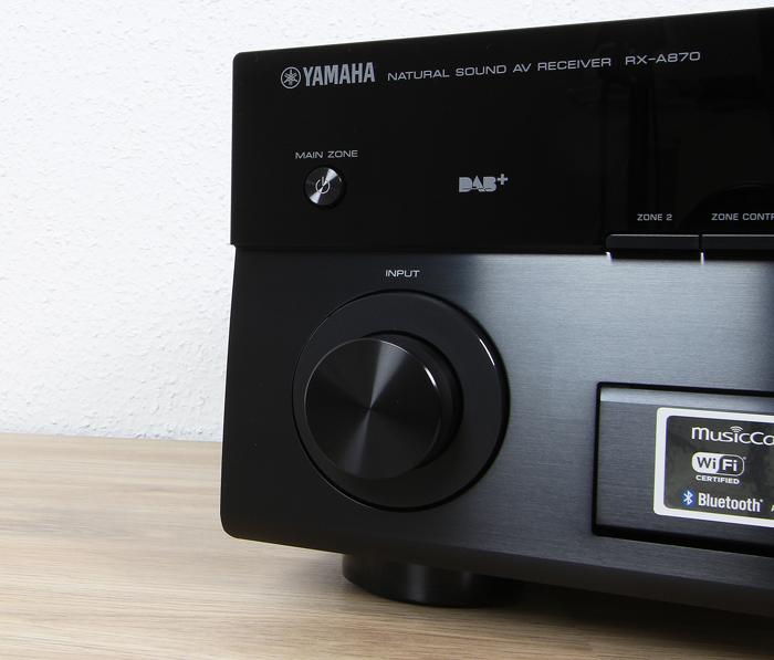 Yamaha-RX-A870-Bedienelemente-Front2