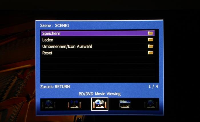 Yamaha RX-A870 Screenshot 12
