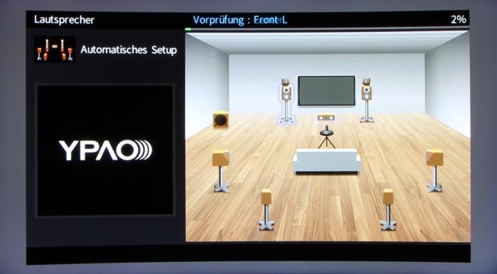 Yamaha RX-A870 Screenshot 4