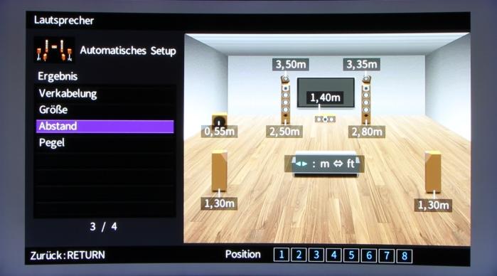 Yamaha RX-A870 Screenshot 6