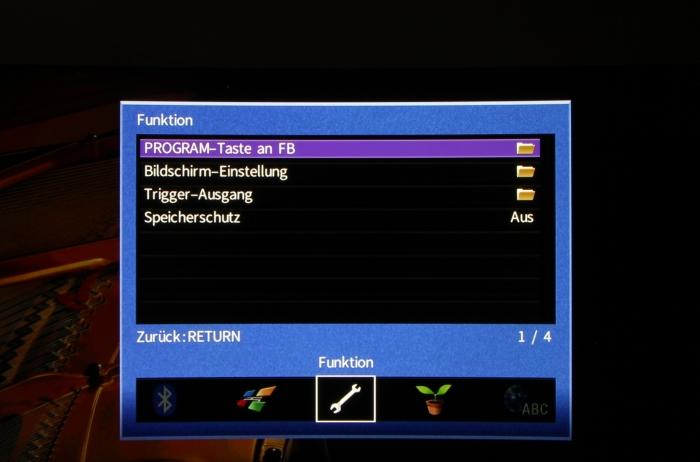 Yamaha RX-A870 Screenshot 9