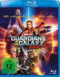 Guardians of the Galaxy Vol 2 Blu-ray Disc