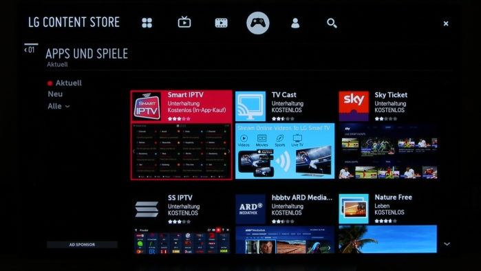 LG OLED55C7D Screenshot 11