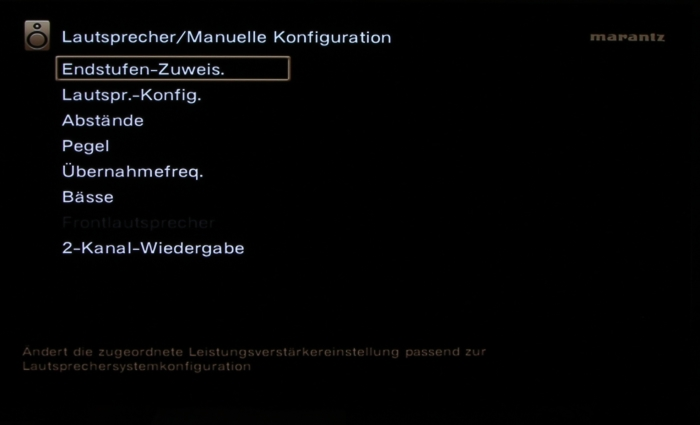Marantz SR 7012 Screenshot17