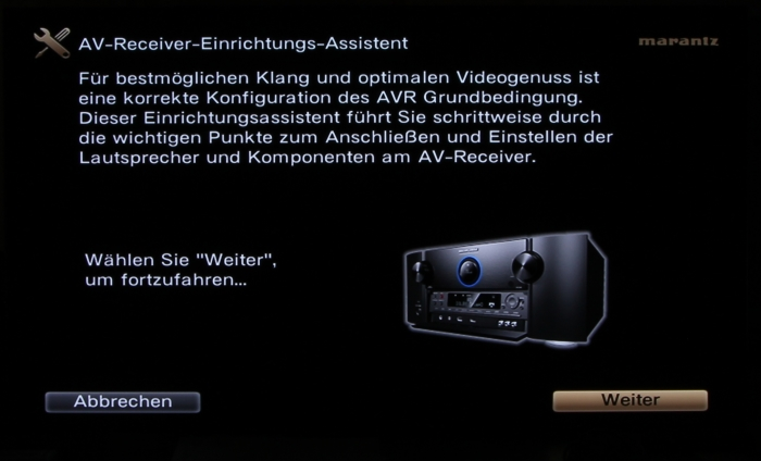 Marantz SR 7012 Screenshot2