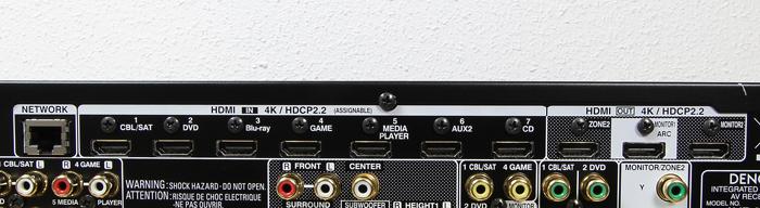 Denon-AVR-X6400H-Anschluesse-Rueckseite1