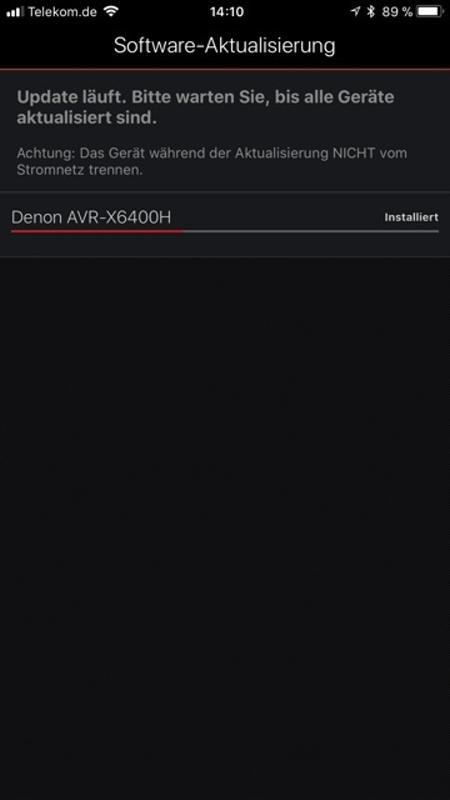 Denon AVR-X6400H App 8