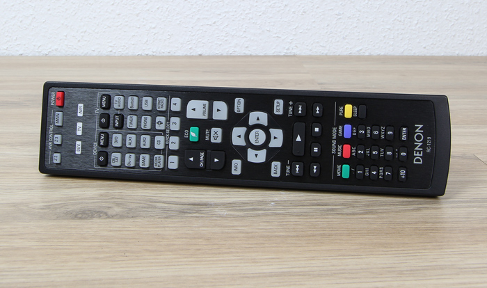 Denon-AVR-X6400H-Fernbedienung