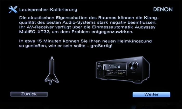 Denon AVR-X6400H Screenshot 6