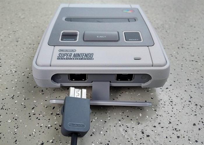 Nintendo SNES Classic Mini 04