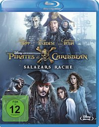 Pirates of the Caribbean - Salazars Rache Blu-ray Disc