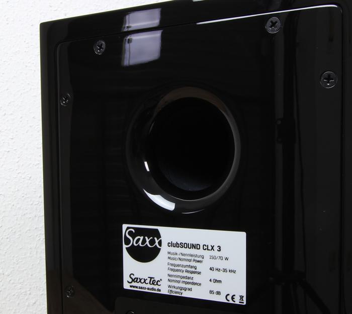 Saxx-clubSOUND-CLX-3-Bassreflexrohr
