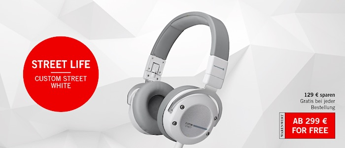 Cyber Monday Beyerdynamic Cutom Ctreet