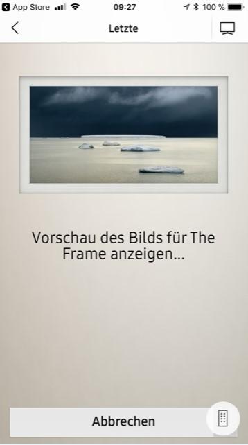 Samsung The Frame App Vorschau