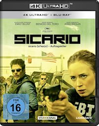 Sicario Ultra HD Blu-ray