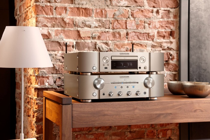 Marantz ND8006 PM8006  Champagner